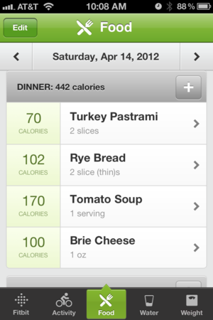 The iPhone App: Food